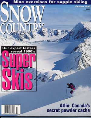 Snow Country Magazine. Heli-Skiing guide Helene Steiner Strikes rich powder  in British Columbia's